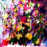 Floral - Acrylic on canvas - by zampedroni