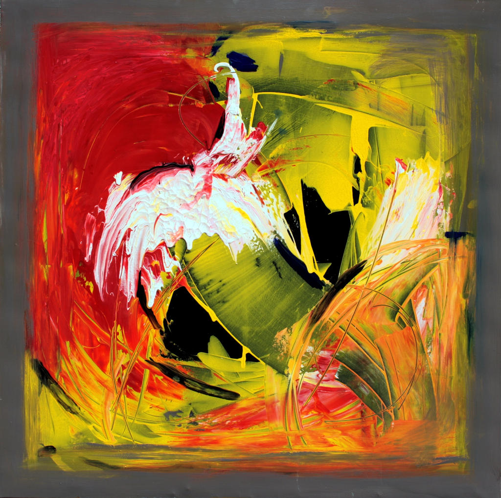Abstract painting of people abstract painting 2000 by