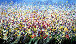 Abstract flower field 2009