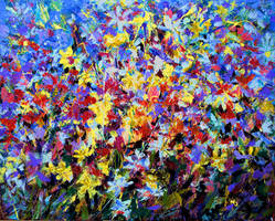 Floral abstraction by zampedroni