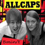 ALLCAPS   contest cd cover by minnie-jory