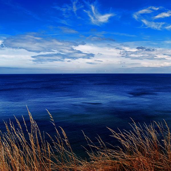 blue ocean by augenweide