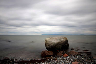 resting rock by augenweide