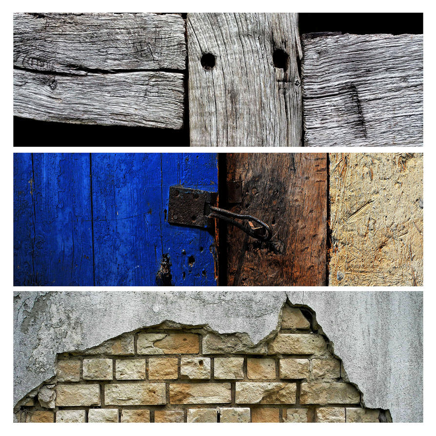 wood and stone by augenweide