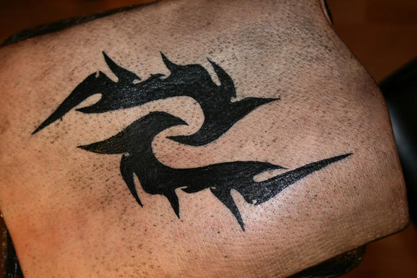 Tattoo on pig skin by memphre on deviantart for Tattoo practice pig skin