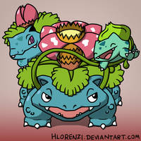 The Dino Family by HLorenzi