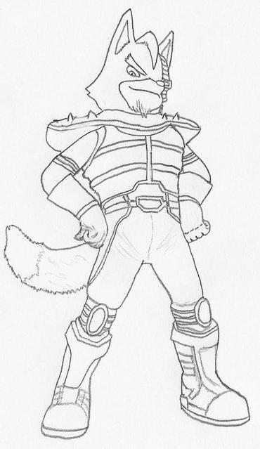 Wolf O Donnell By Fox Wolf By Starfox Club On Deviantart