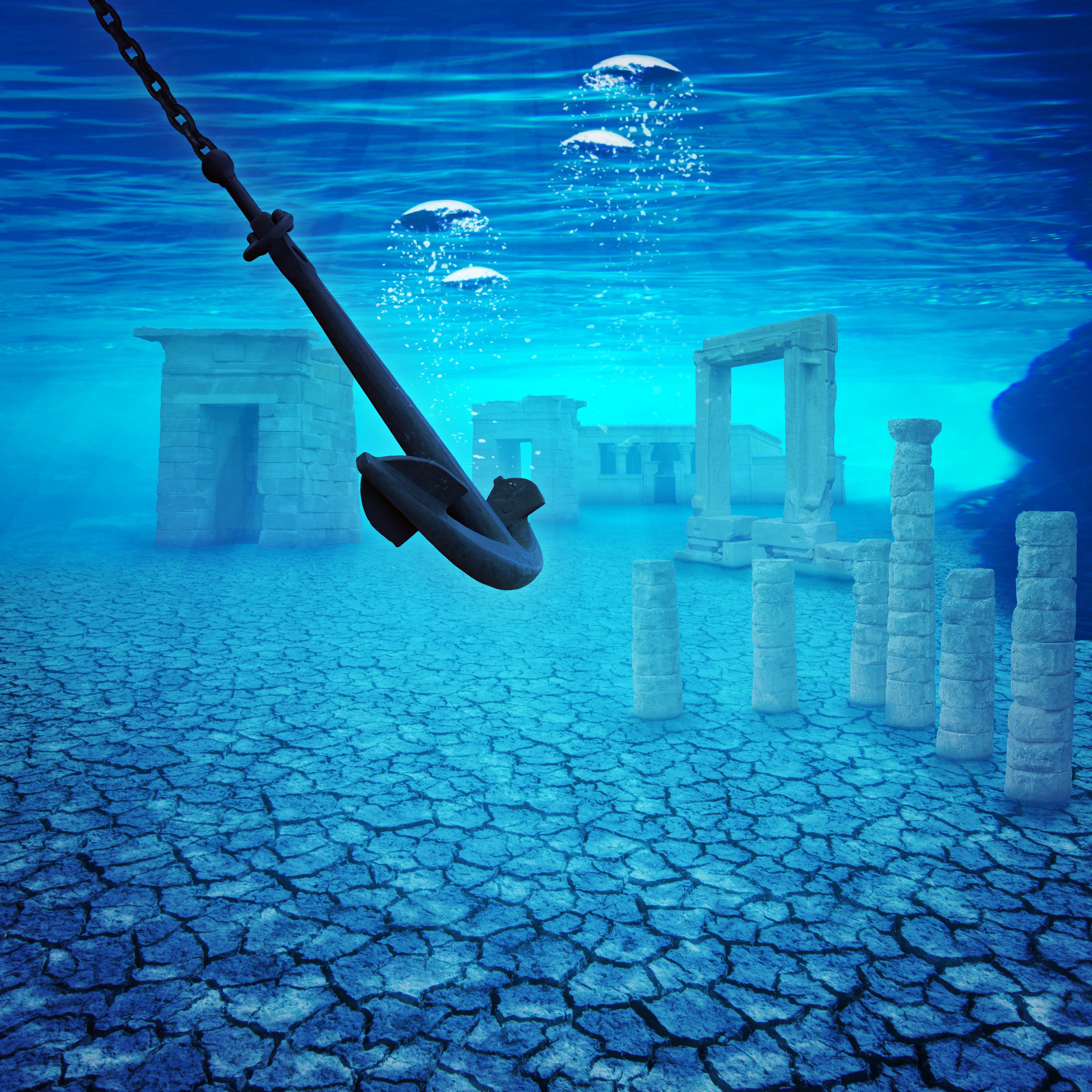 Underwater ruins by MaSi-83