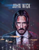 John Wick by digitalpixoil