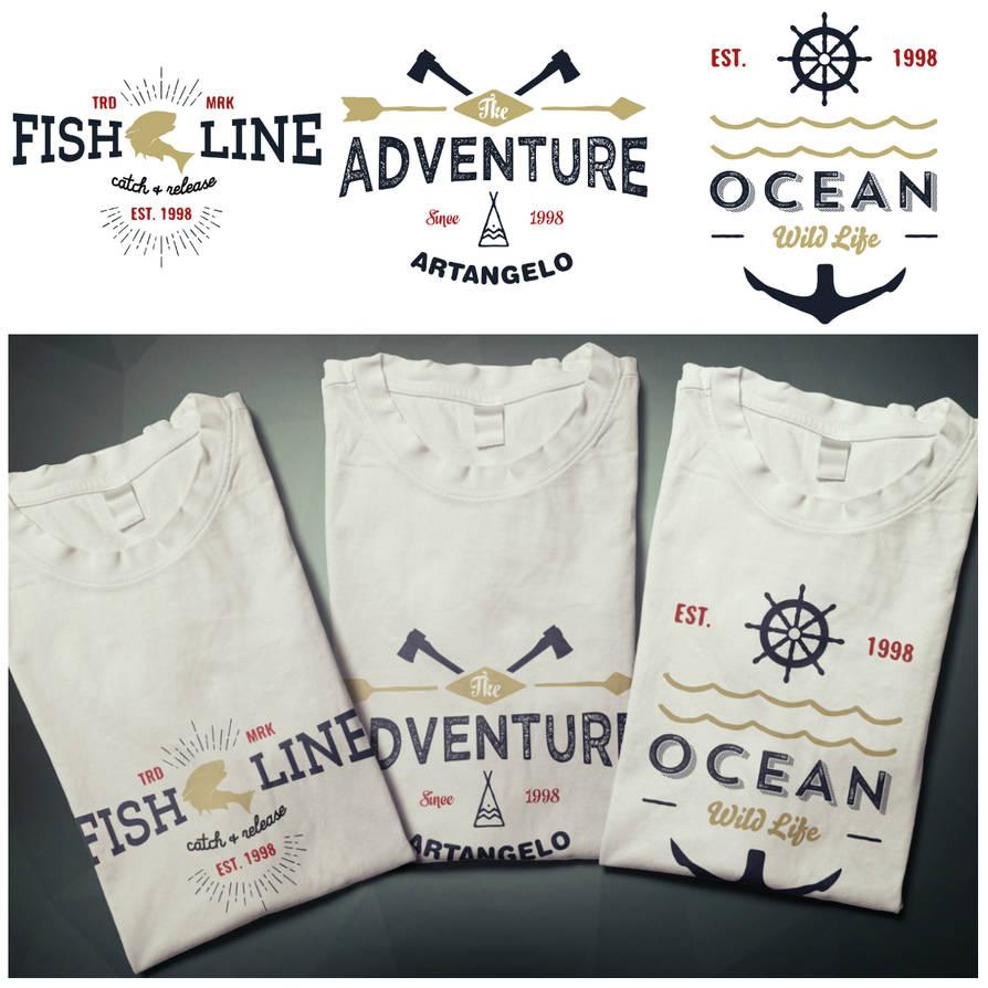 T-shirts design outdoor by EugeneStanciu