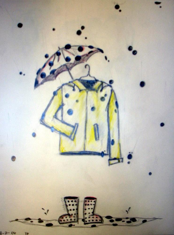 Rain Dots dots dots by veronicashei