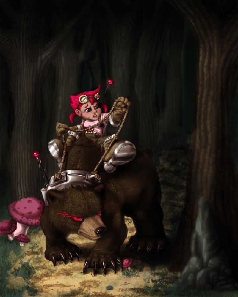 Gnomes VS Goblins: Beast Snatcher by xXlSalimuslXx