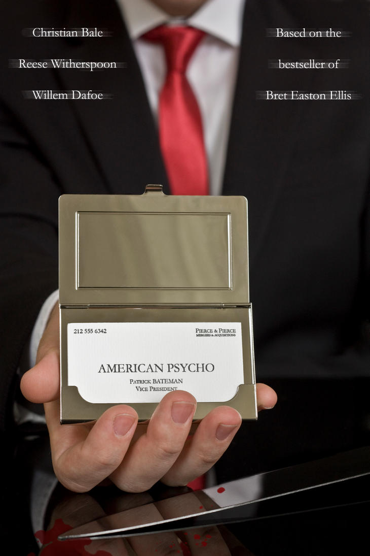 American Psycho Movie Poster by Maikel-S