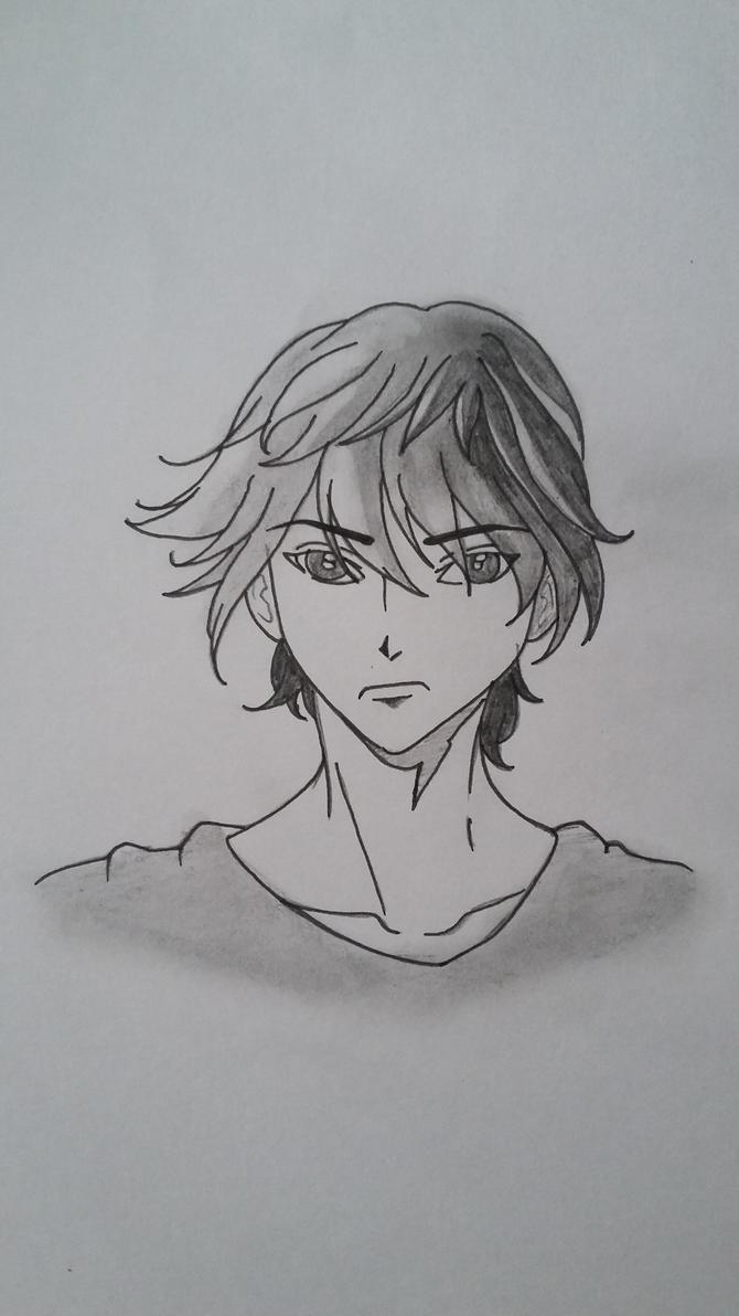 simple manga boy by tutansuv