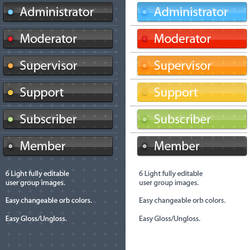 Web 2.0 MyBB Buttons