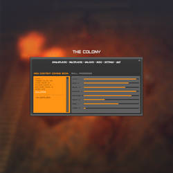 The Colony In-game menu