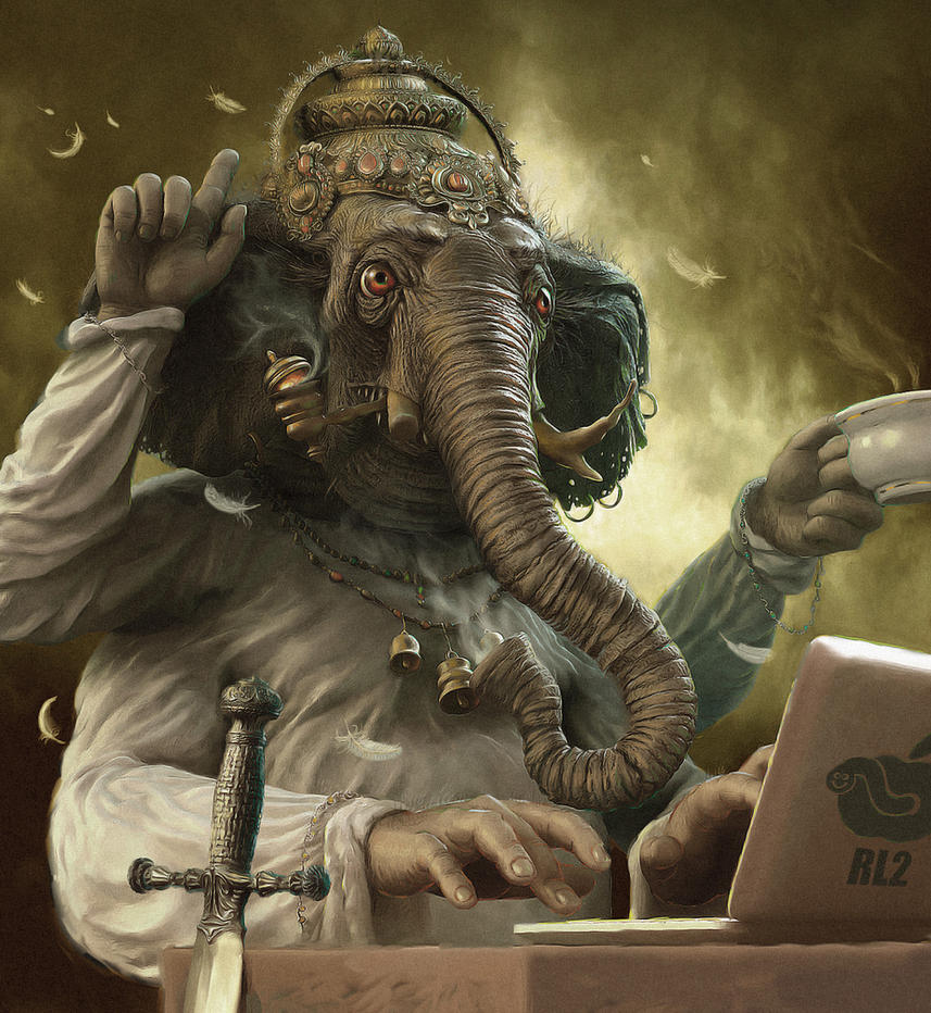 Ganesh by 25kartinok