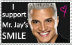 I support Mr. Jay's smile by ikai-zixie