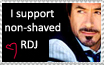 I support non-shaved RDJ by ikai-zixie