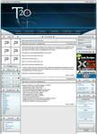 Gaming website design.