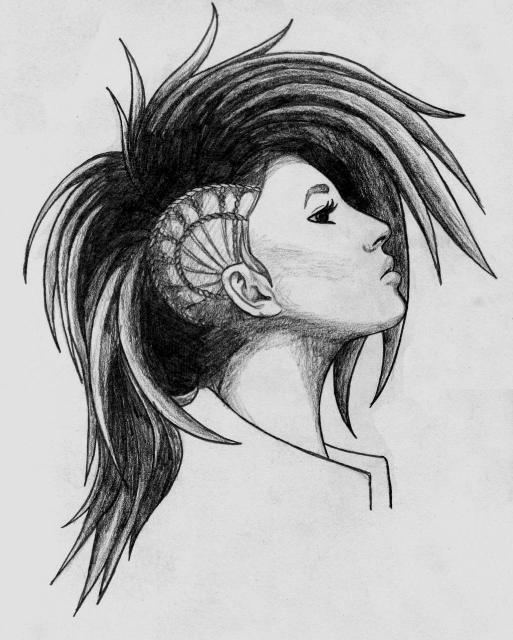 Punk Girl By Anghellic67 On Deviantart