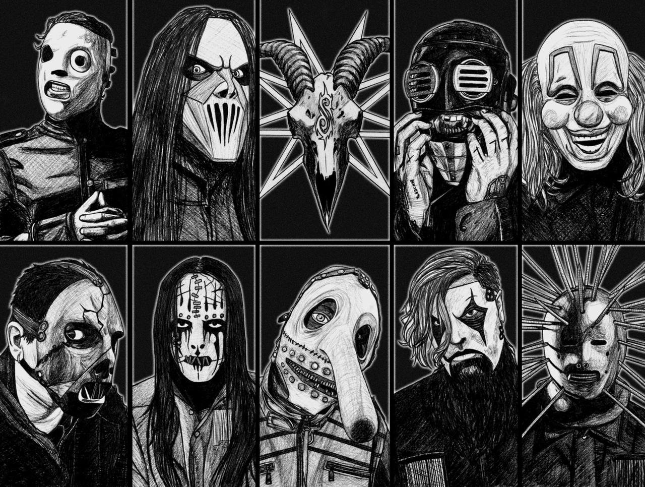 Slipknot Wallpaper by Anghellic67 on DeviantArt