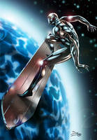 silver surfer by dinei