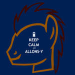 Dr. Whooves: Keep Calm and Allons-Y
