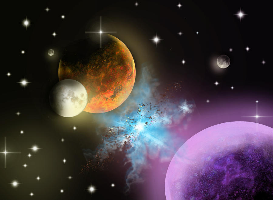 more planets in space - photo #11