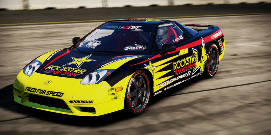 Rockstar Energy Drink Acura NSX by jmcll160 on DeviantArt