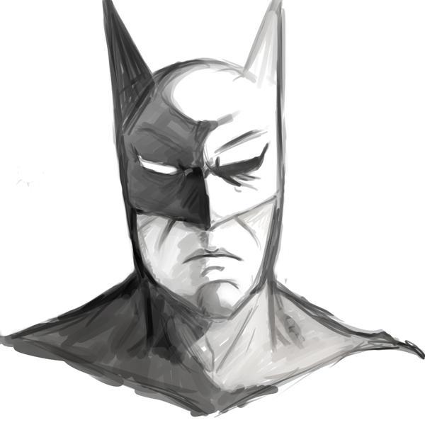 batman sketch by Sho-Sakka