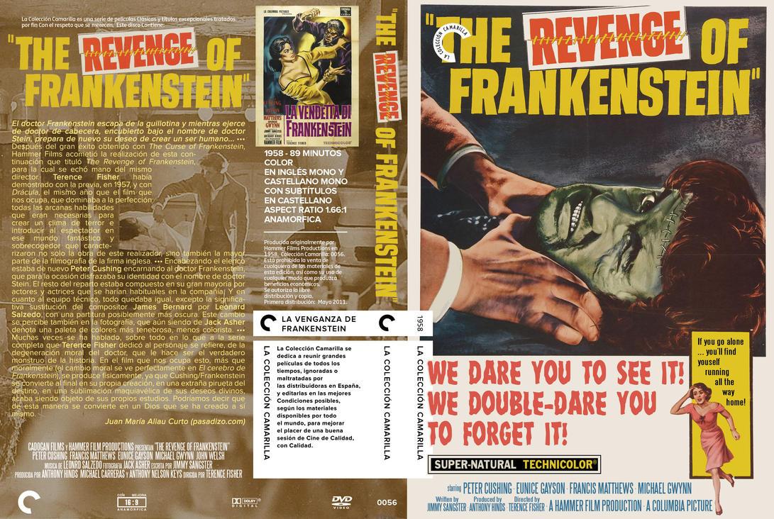 revenge on frankenstein The revenge of frankenstein (1958) director: terence fisher starring peter cushing, francis matthews, eunice gayson.