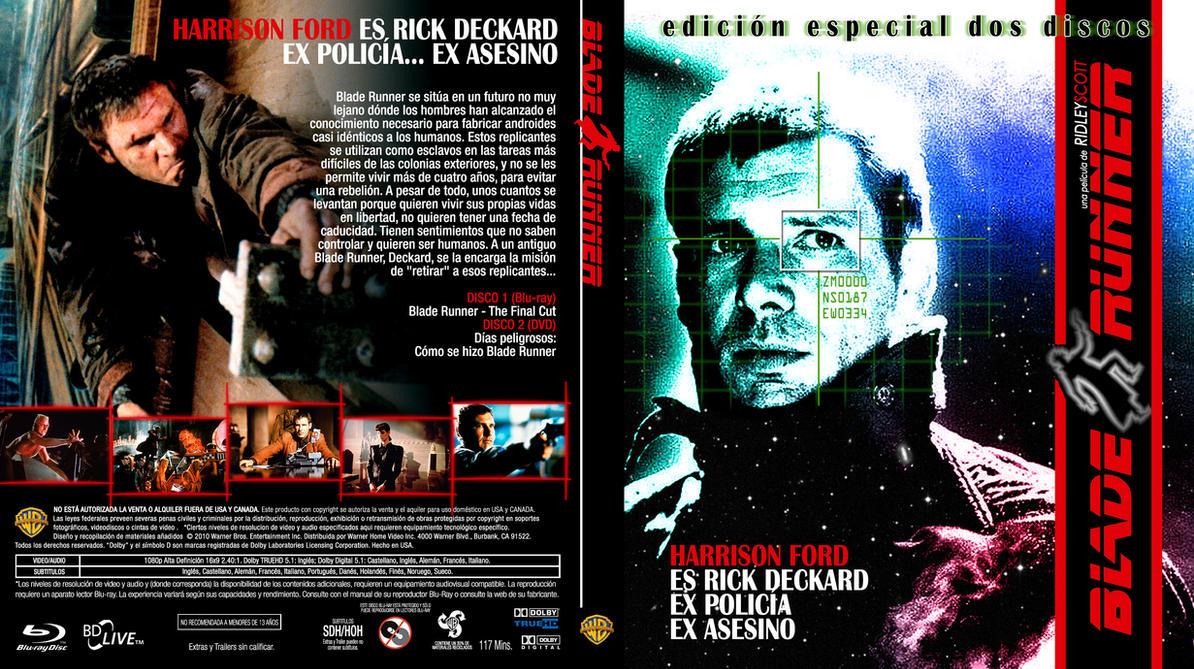 Blade Runner EU BD Cover By Repopo