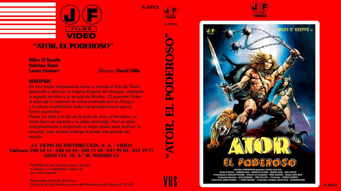 Ator l'invincibile BD-VHS COVER by repopo on DeviantArt