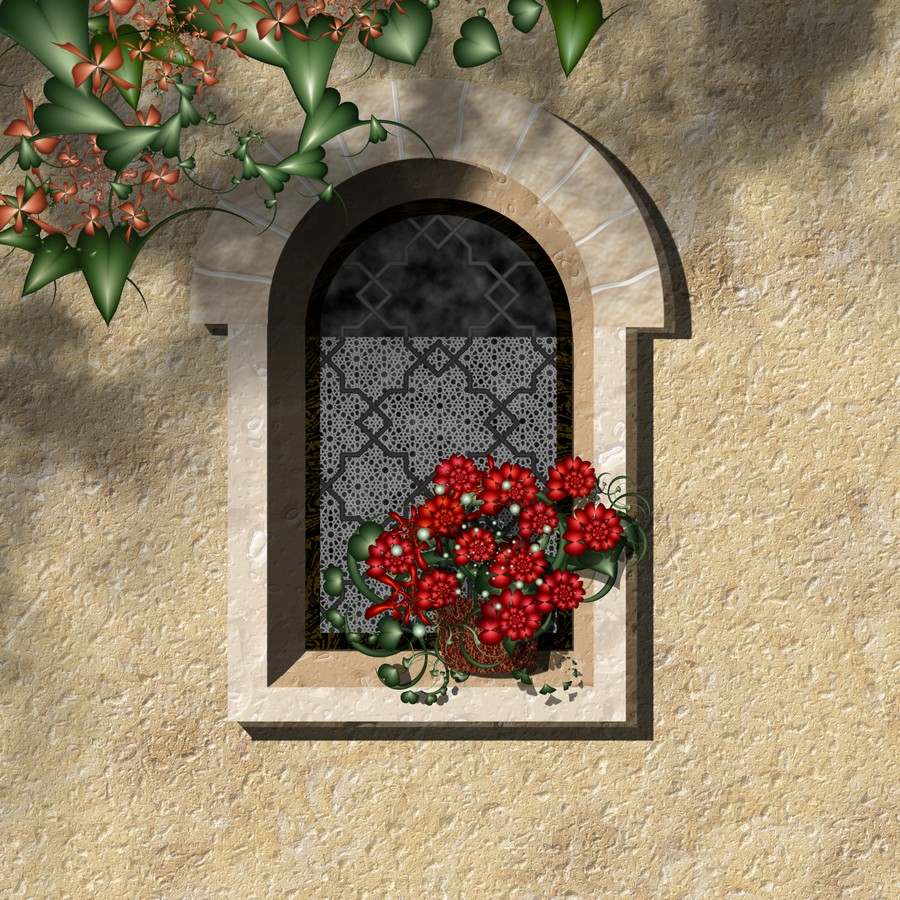 Cottage Window by LaPurr
