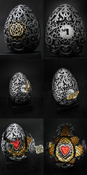 Faberge Egg by osiskars