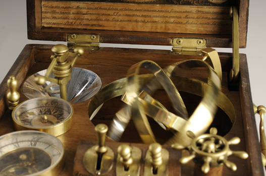 Time Machine inside closeup ,in motion