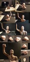 Human bust WIP