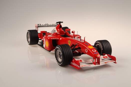 Ferrari F2002 F1  hand made