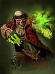 Lich Pirate Character Art