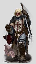Crusader by BarelynormalActivity