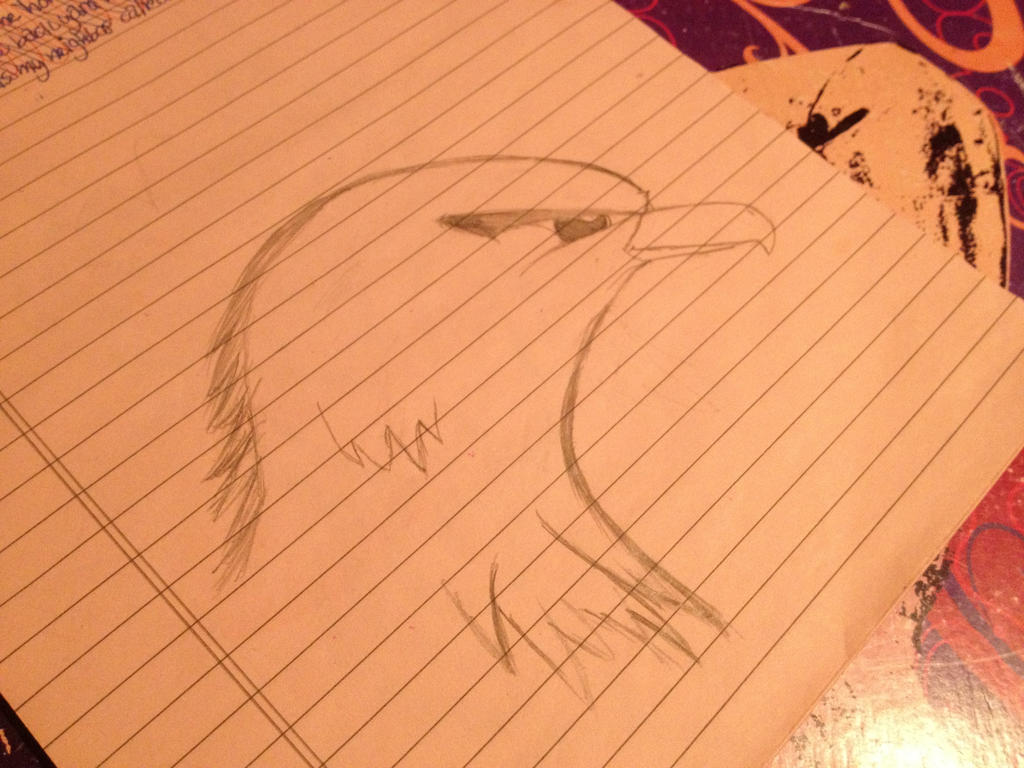 Eagle head by Mimzy94