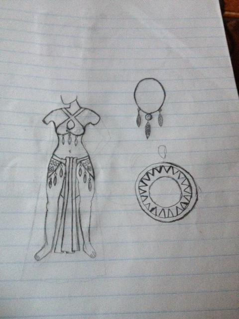 Ch'uupal Paax goddess outfit by Mimzy94