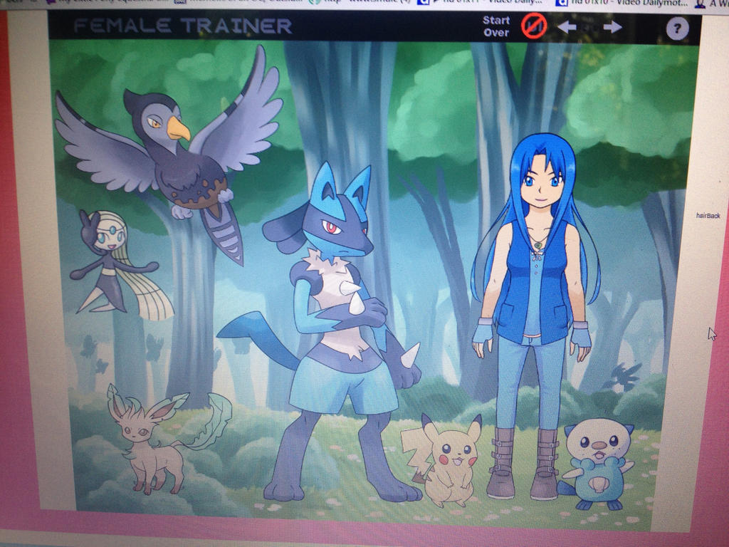 My Pokemon Trainer OC Aria Animari by Mimzy94