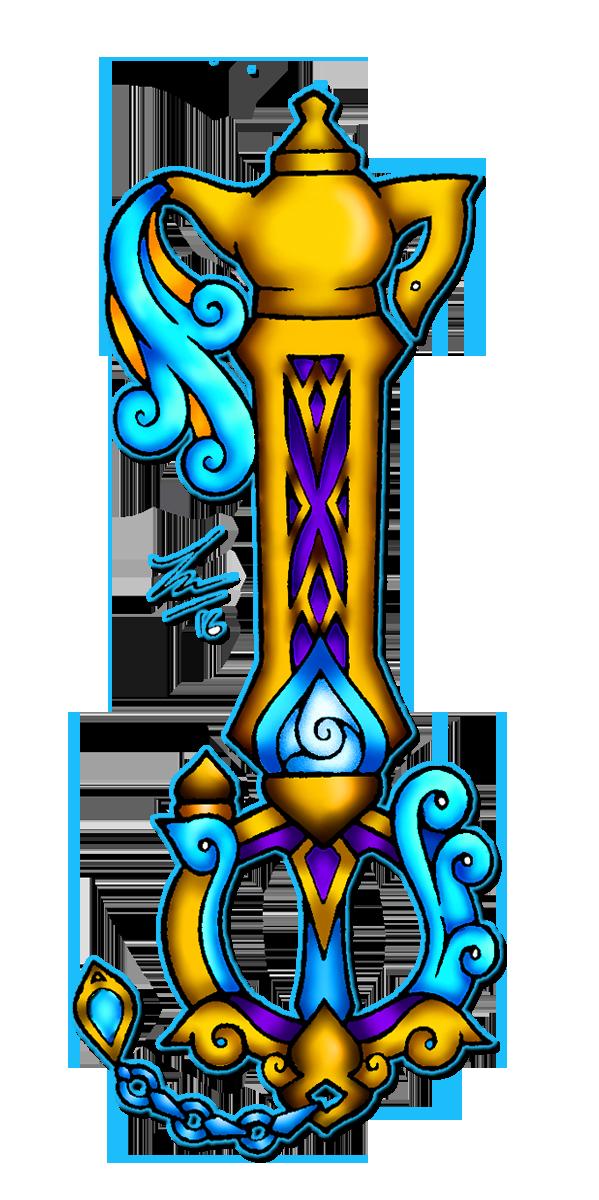 Keyblade #1: Genie's Wish by Mimzy94
