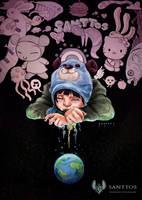 Tears of a pop art by santtos-portfolio