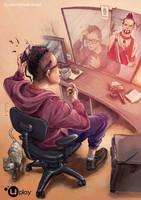 Vaas Far Cry 3 by santtos-portfolio