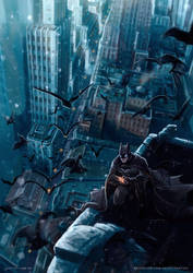 Batman by santtos-portfolio