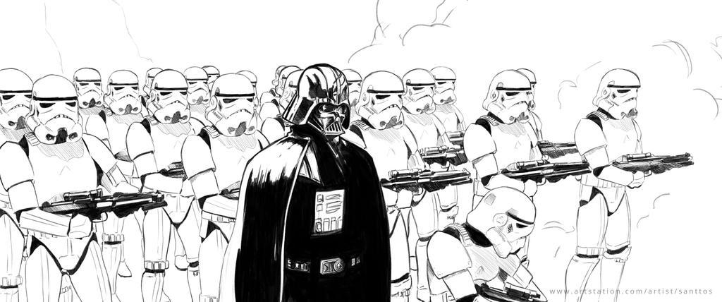 Star Wars Line by santtos-portfolio