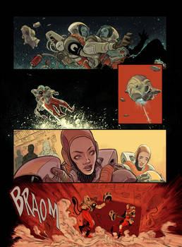 Sci-Fi Comic